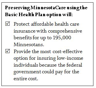 text box - basic health plan