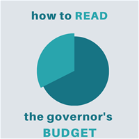 How to read the Governor's budget