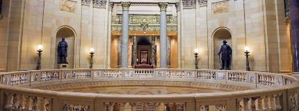 inside MN capitol