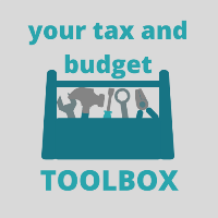 your tax and budget toolbox
